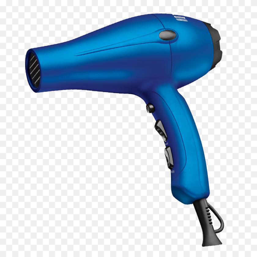 988x988 Hot Tools Radiant Blue Pro Salon Turbo Ionic Dryer - Blow Dryer PNG