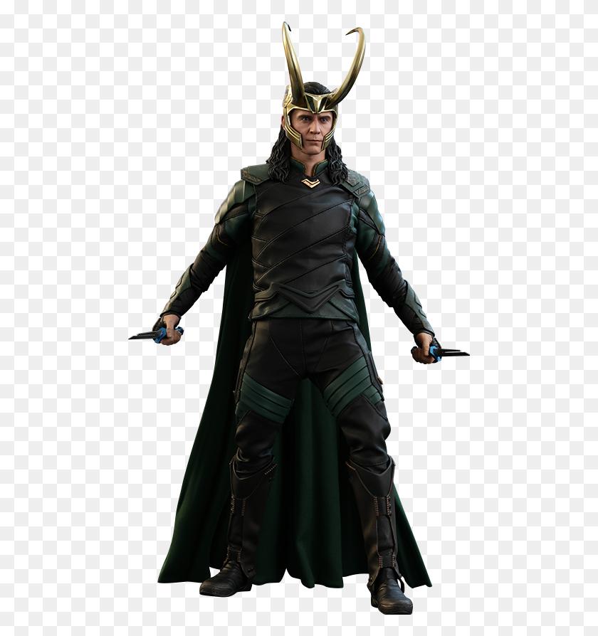 480x834 Hot Toys - Loki PNG