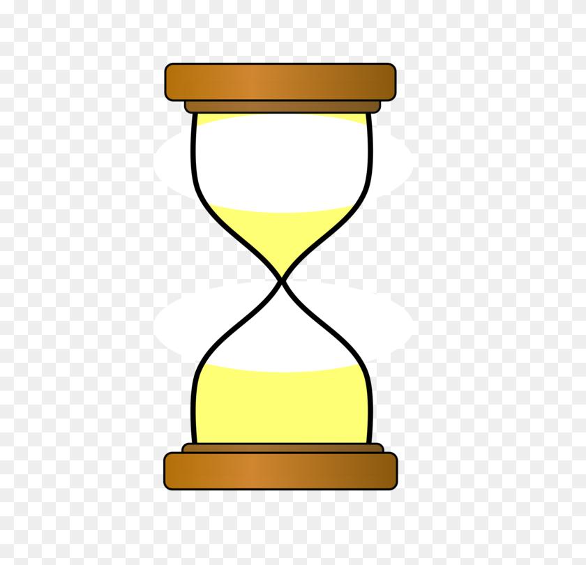 Hourglass Egg Timer Clock - Sand Timer Clipart
