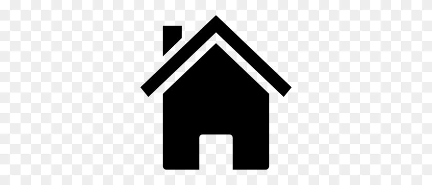 House Black Png, Clip Art For Web - Old House Clipart