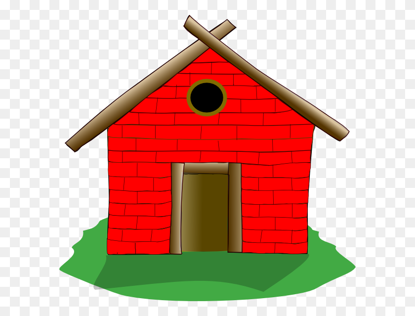 House Clipart Brick House - Row Of Houses Clipart