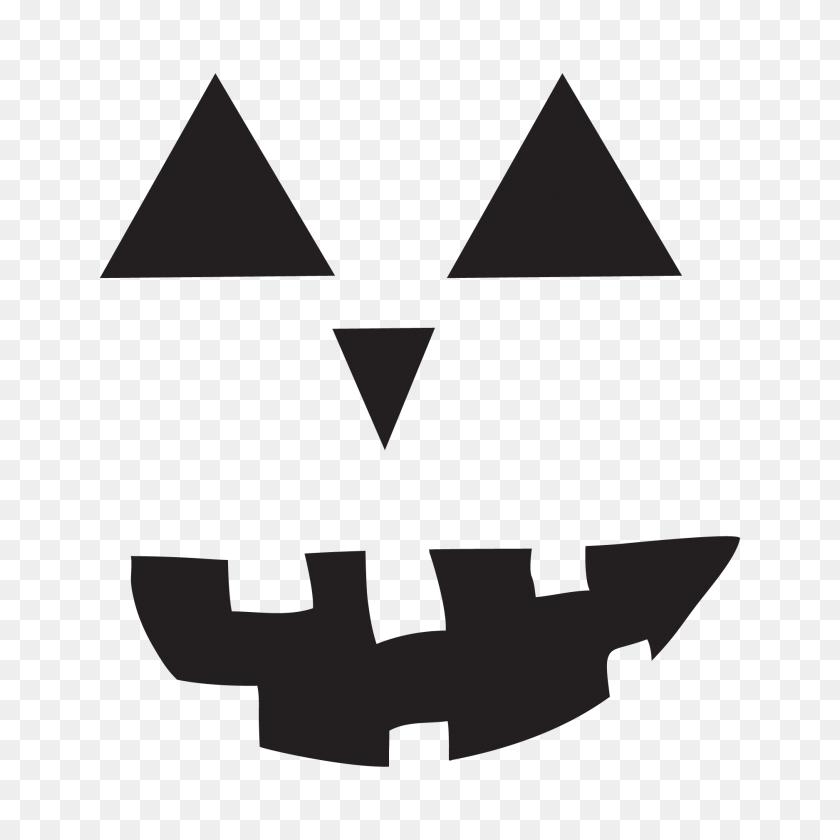 House Cutting - Jack O Lantern Face Clipart