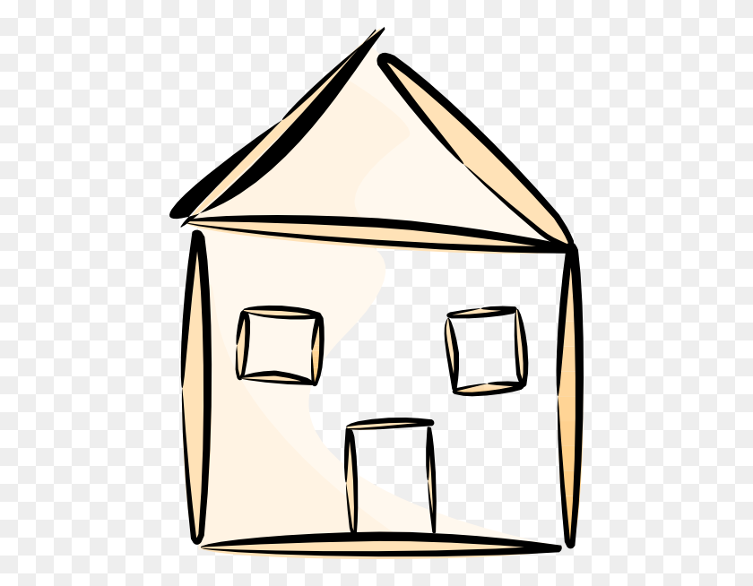 House Outline Clipart - House Clipart Outline