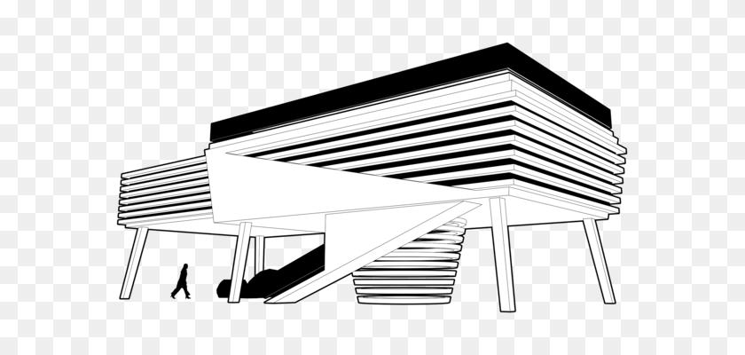 House Villa Home Building - Apartment Building Clipart