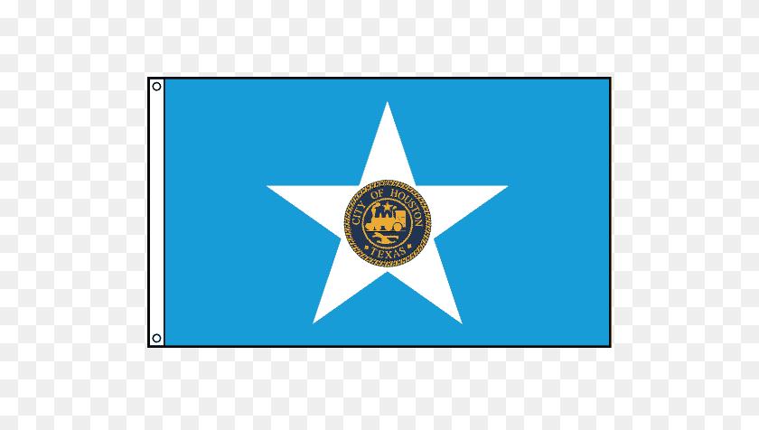 Houston City Flag - Texas Flag PNG