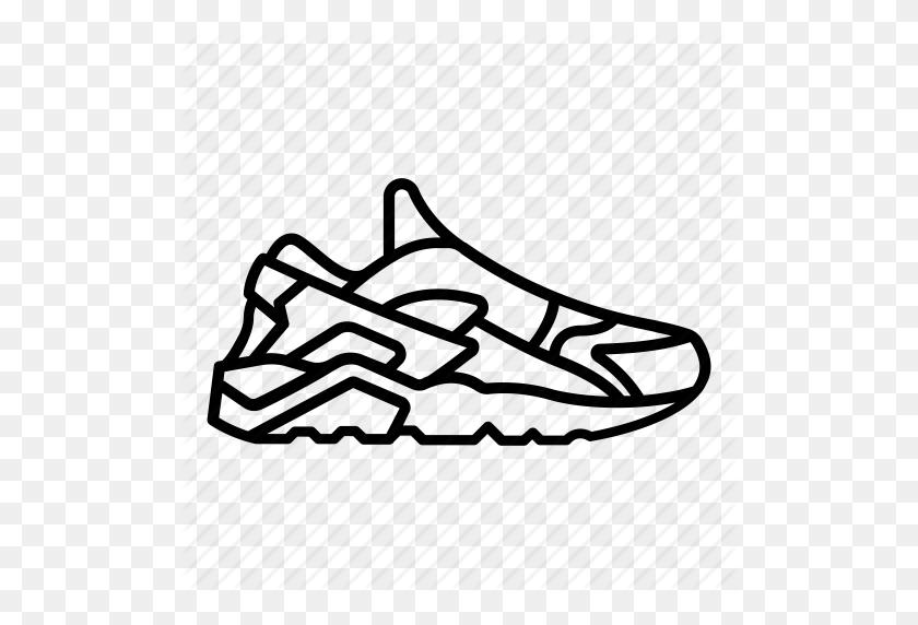 Huarache, Nike, Shoe, Shoes, Sneaker, Sneakers Icon - Sneakers PNG