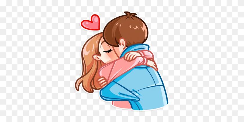 Hugs Kisses - Kisses PNG