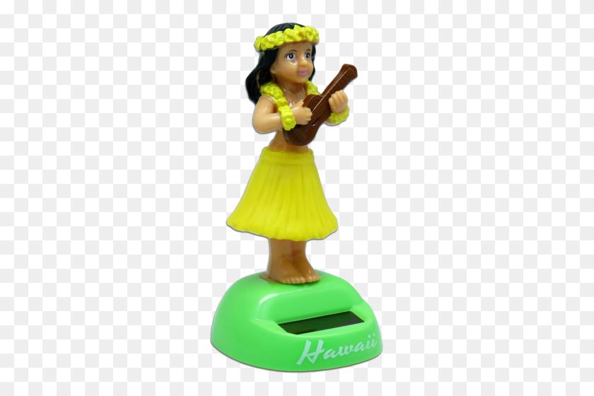 Hula Girl Ukulele - Hula Girl PNG