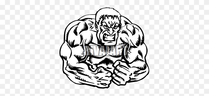 Hulk Clip Art Free - Hulk Fist Clipart