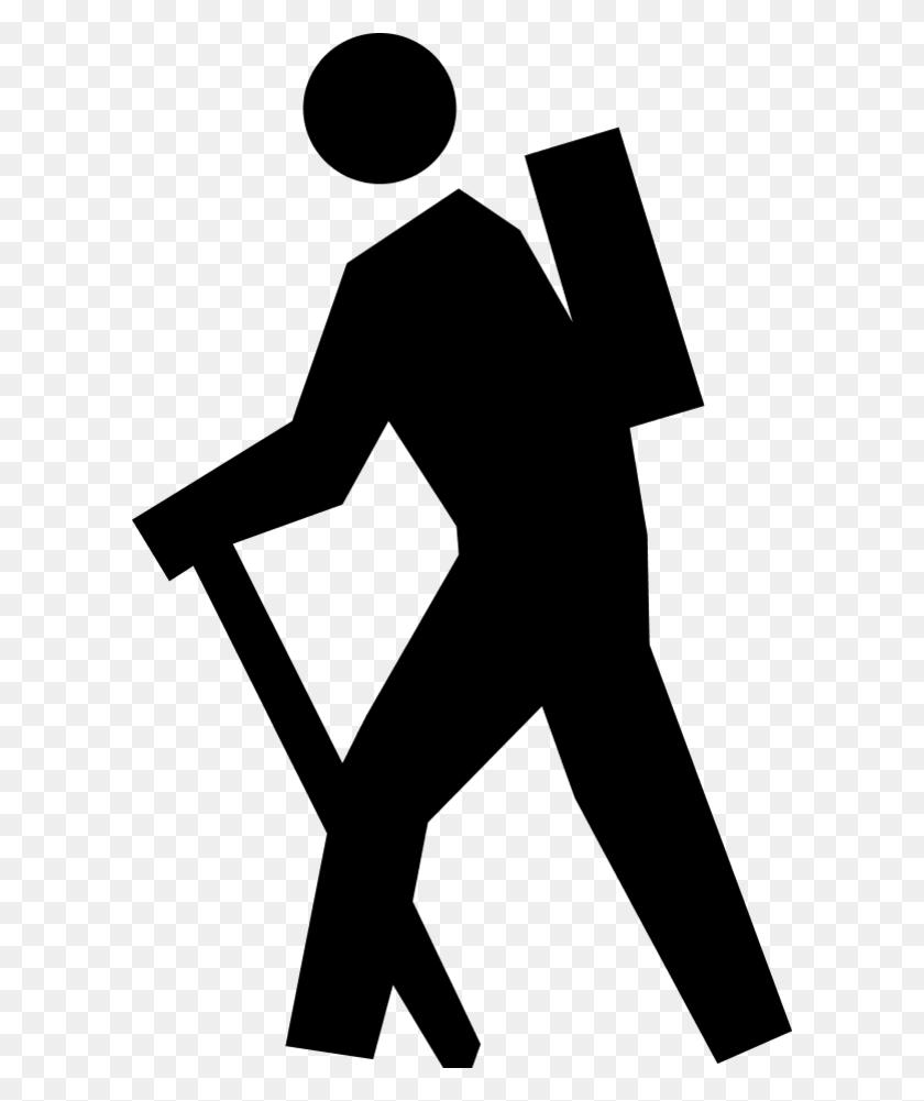 Human Clipart Human Walking - Stick Figure Clip Art Black And White