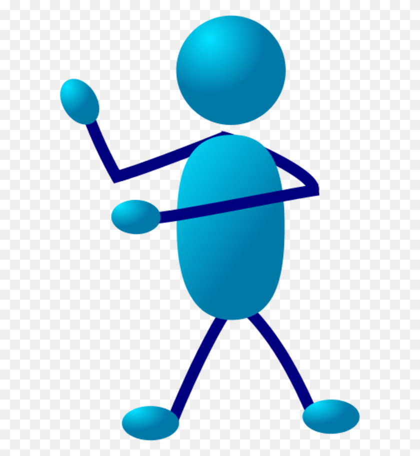 Human Figure Clip Art - Person Standing Clipart