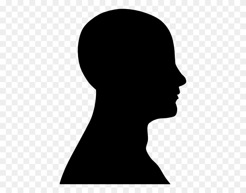 Human Head Silhouette Clipart - Human Head Clipart