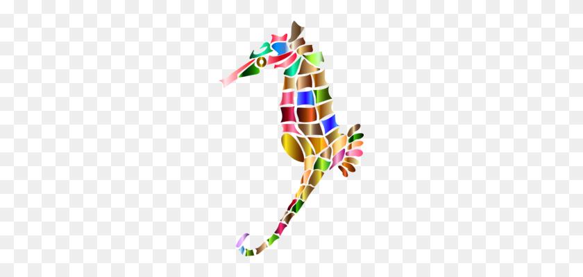 Hummingbird Seahorse Animal - Seahorse Black And White Clipart