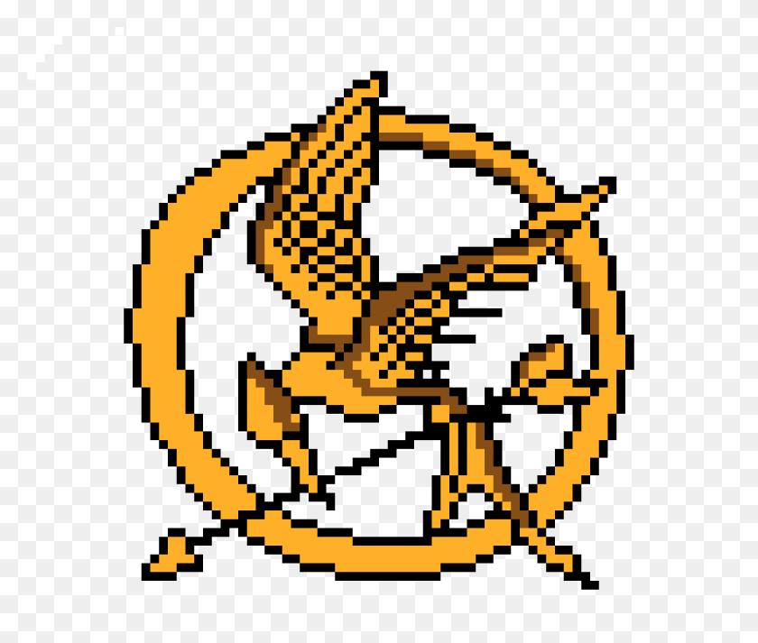 Hunger Games Mocking Jay Pixel Art Maker - Hunger Games Clip Art