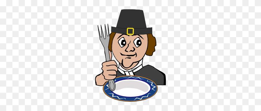 Hungry Pilgrim Clip Art - Pilgrim Clipart