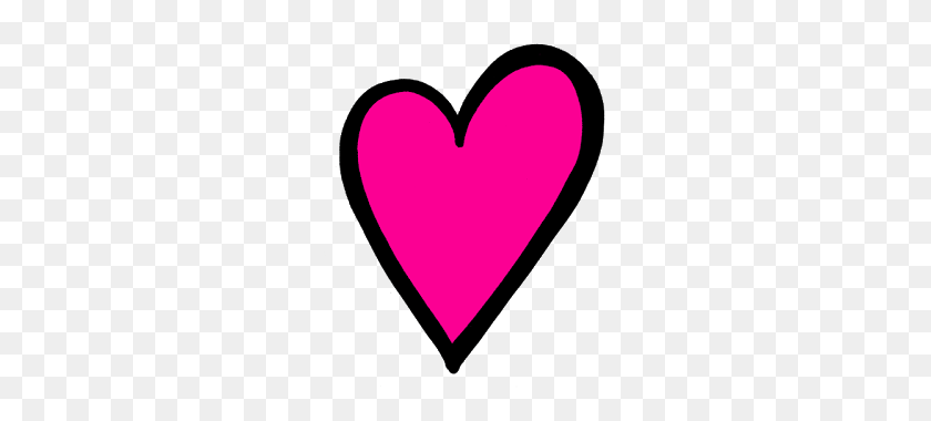 I Love Hearts Heart, Clip - Heart With Heartbeat Clipart