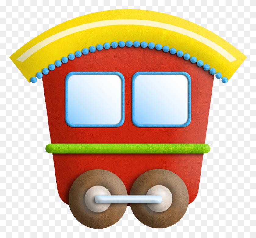 Iandeks Fotki Clipart - Toy Train Clipart