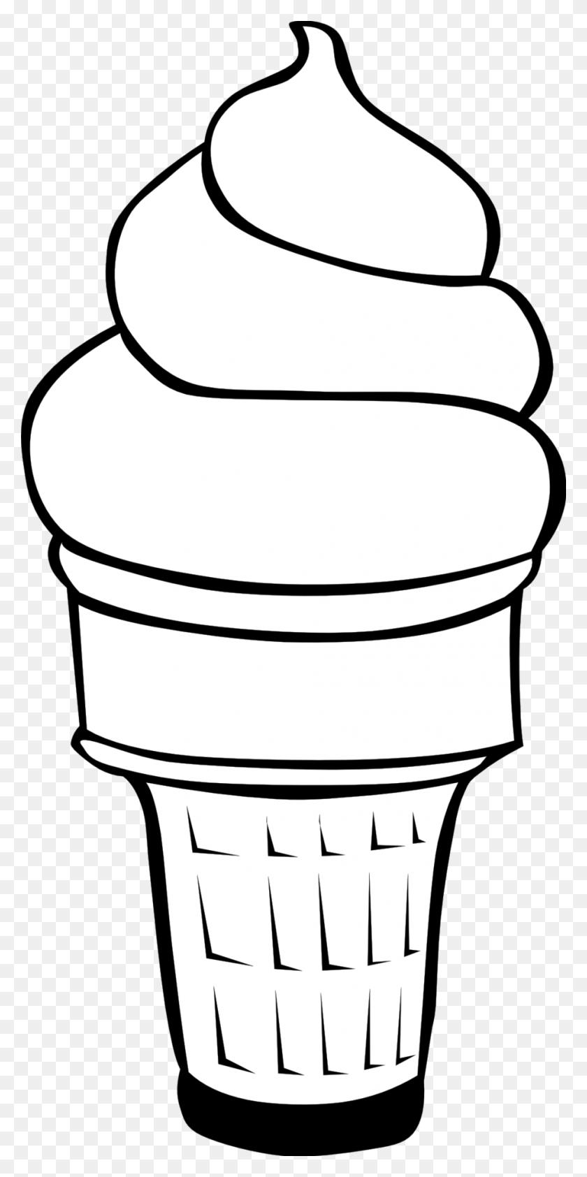 949x1978 Ice Cream Clipart - Scoop Clipart