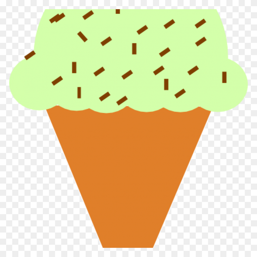 Ice Cream Cone Clip Art Ice Cream Cone With Sprinkles - Icecream Cone Clipart