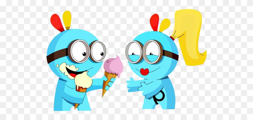 Melting Ice Cream Clipart