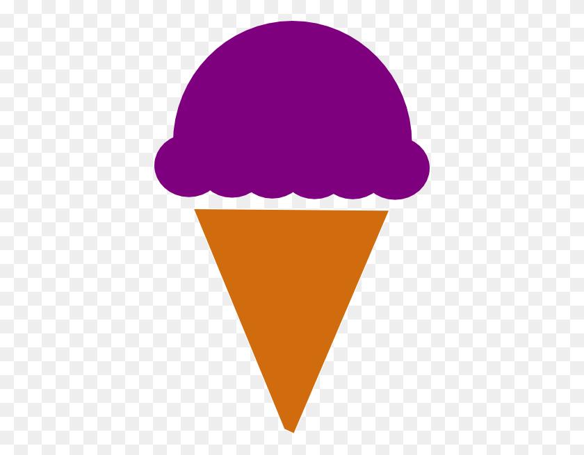 396x595 Ice Cream Silhouette Clip Art - Ice Cream Scoop Clipart