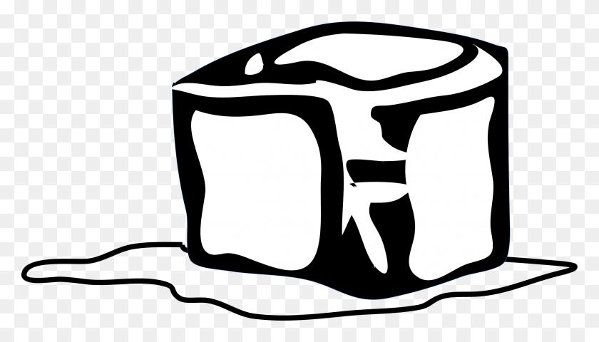 2399x1294 Ice Cube Clipart Frozen - Saber Clipart