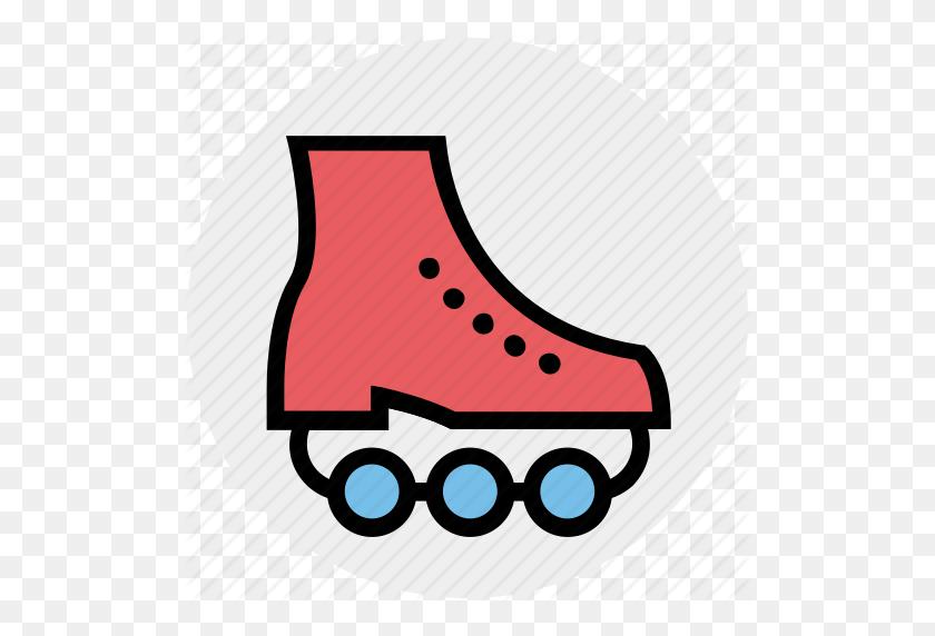 Ice Roller, Inline Skates, Roller Skating, Skates, Skating - Roller Skate PNG