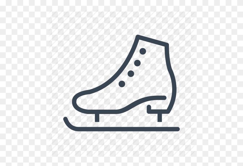 Ice, Skate, Skating, Winter Icon - Roller Skate Clip Art