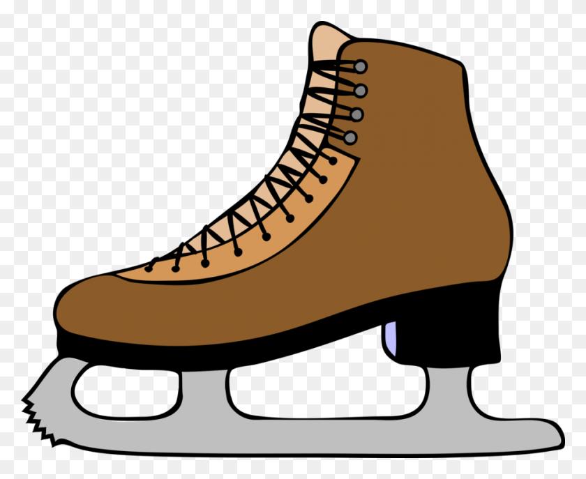 Ice Skating Ice Skates Roller Skating Figure Skating Roller Skates - Skating Rink Clipart