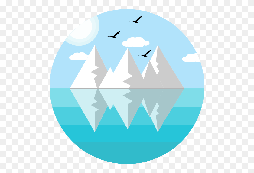Iceberg, Ecology, Melting Icon With Png And Vector Format For Free - Melting PNG