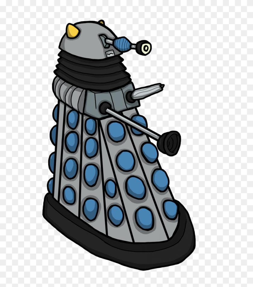 Ichf Daleks Horror Flora - Dalek PNG