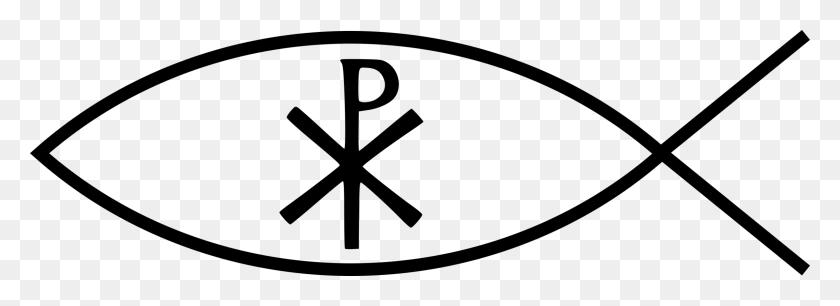 Ichthys Chi Rho Christian Symbolism Christian Cross Free - Christian New Year Clipart