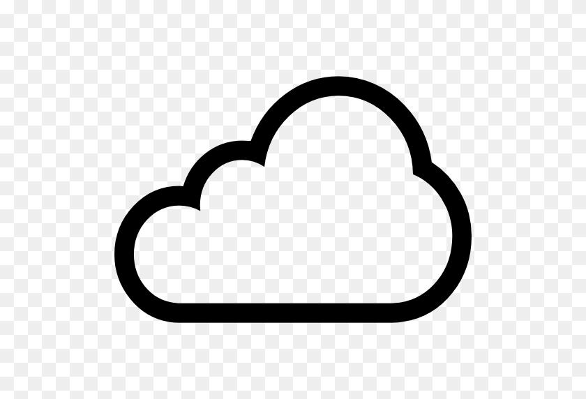Clouds, Outline, Rain, Storm, Sky, Weather Icon - Cloud