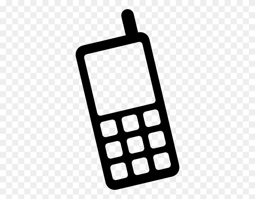 Icon Mobile Phone Clip Art - Cell Phone Clipart PNG