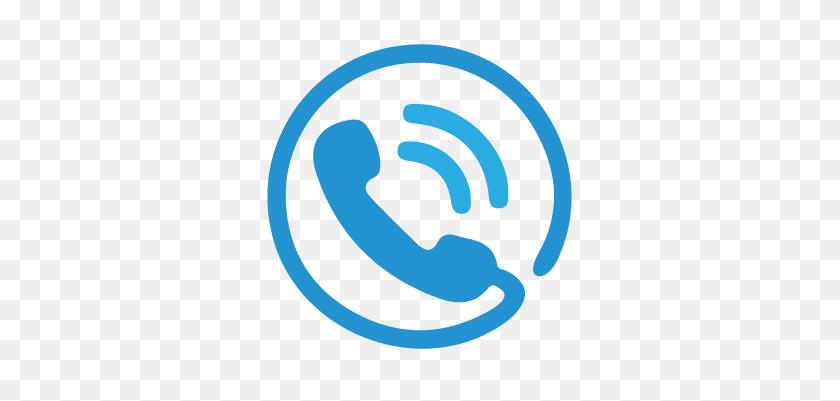 337x341 Icono Azul Png Transparente - Icono De Telefono PNG
