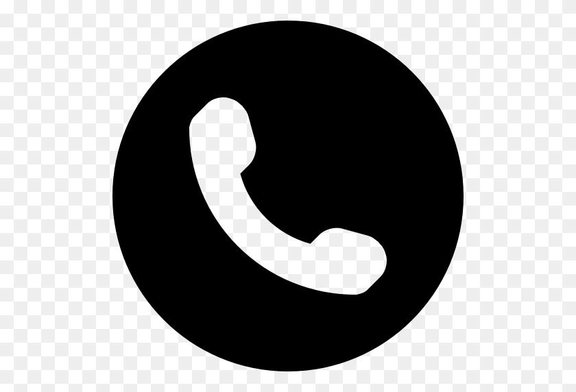 512x512 Icono Telefono, Simbolo, De, Un, Auriculares, Dentro De, Un - Icono Telefono PNG