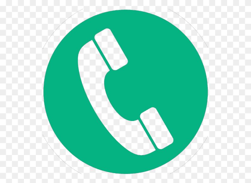 553x554 Icono Telefono Verde Diariofarma - Icono De Telefono PNG