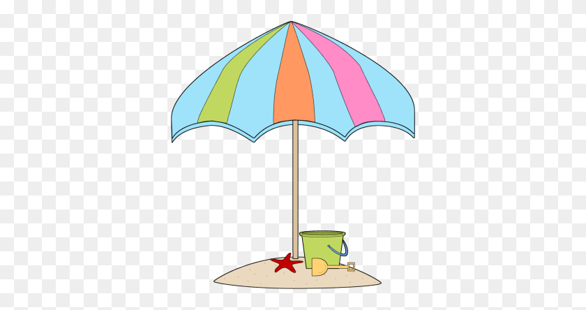 Ideal Beach Umbrella Clip Art Beach Umbrella Scrapbook Cut - Beach Umbrella Clipart
