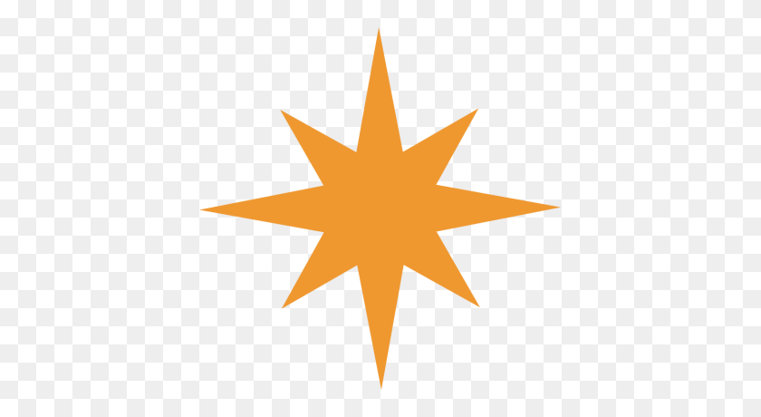 Ideal Star Of Bethlehem Clipart - Bethlehem Clipart