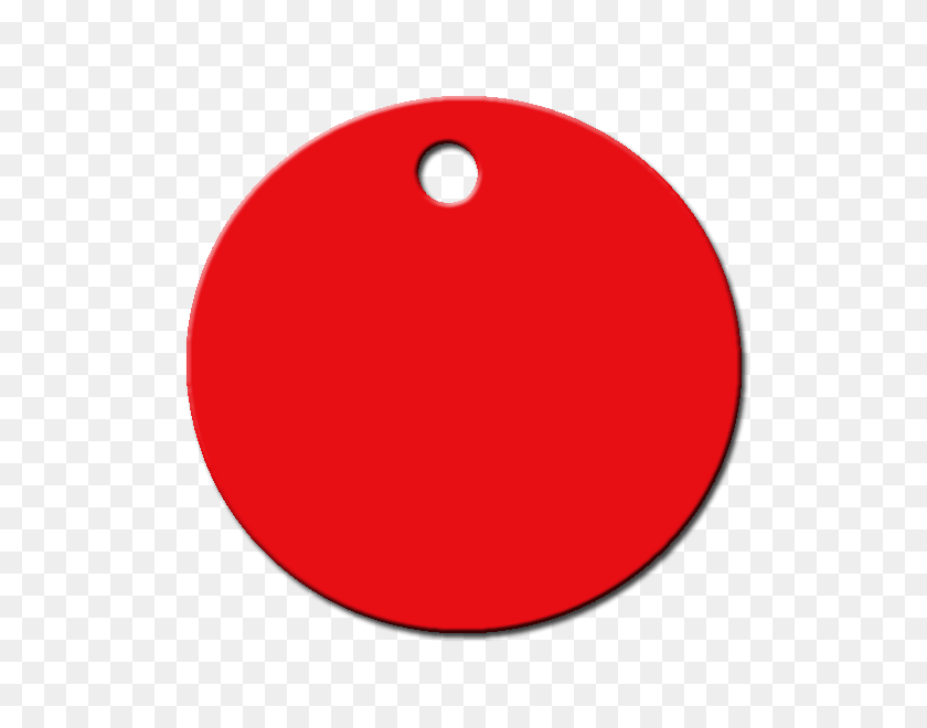 Identifica A Tu Mascota - Circulo Rojo PNG
