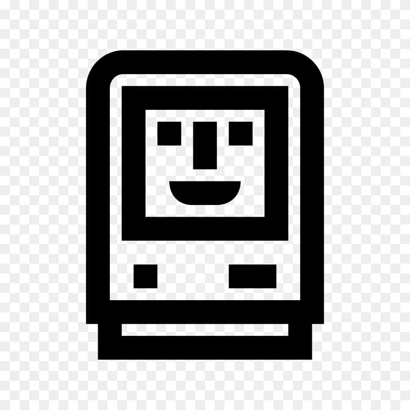 Ikonka Happy Mac - Mac PNG