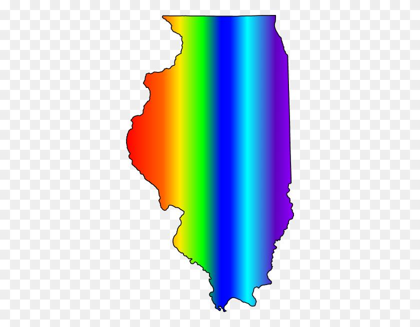 Illinois Lbgt Logo Template Clip Art - Illinois Clip Art