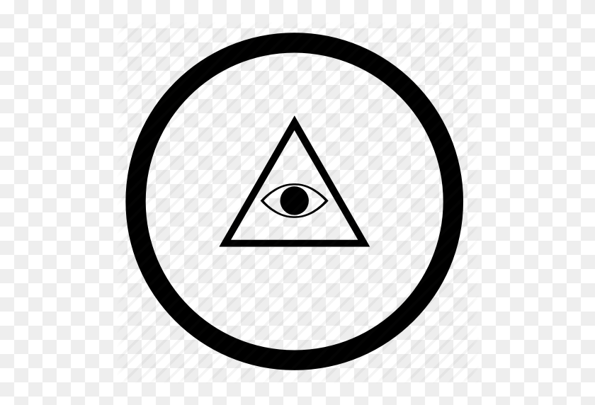 Illuminati Triangle Png, Eye, Illuminati, Pyramid, Round, Triangle - Illuminati PNG