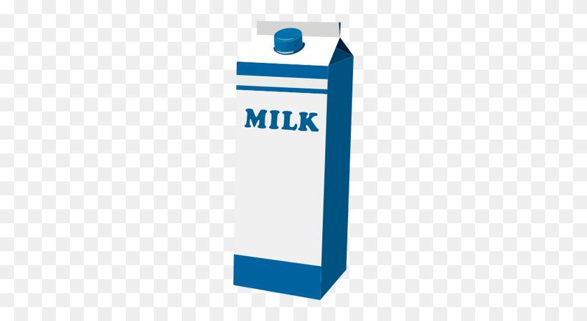 Illustration Of A Milk Carton - Milk Carton Clip Art