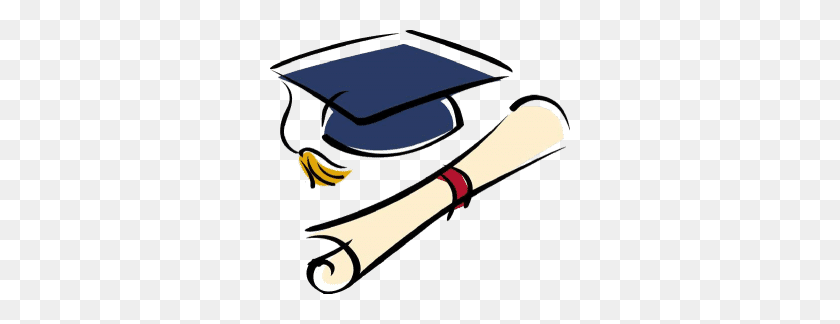 Illustration Of Graduation Cap And Diploma Clip Art Vector - Cap And Diploma Clipart
