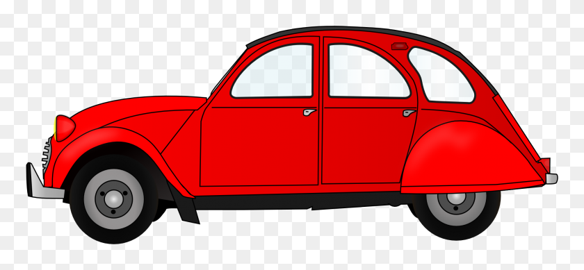 Image - Red Car PNG