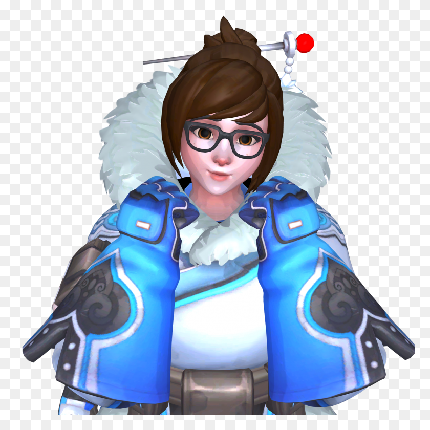 1750x1750 Image - Mei Overwatch PNG
