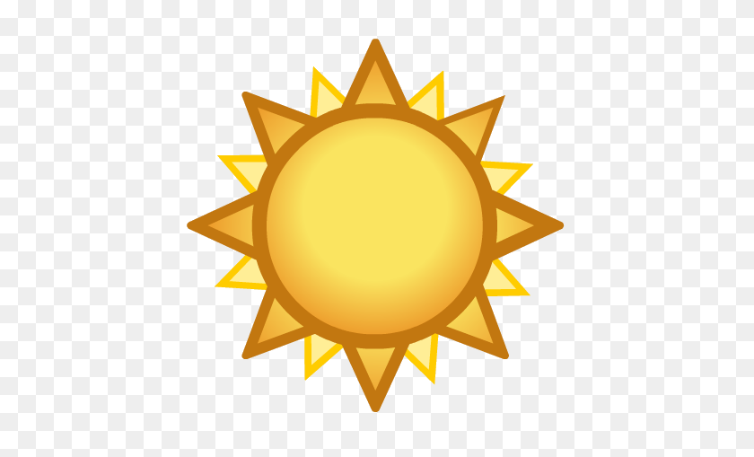Image - Sun Emoji PNG