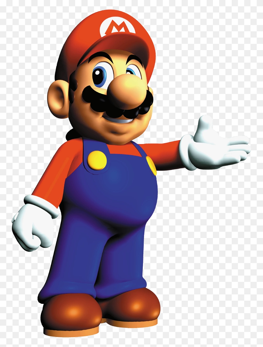 Super Mario Bros Super Mario World Luigi - Super Mario 64