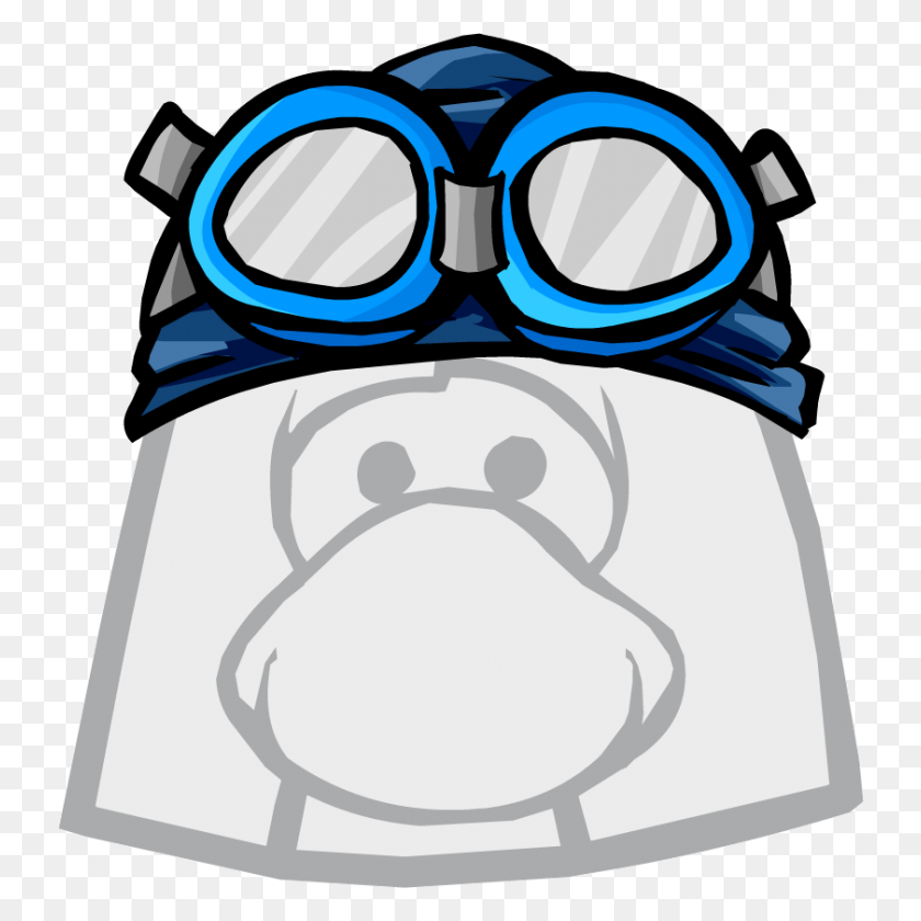 Image - Swimming Goggles Clipart